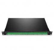 1x64 PLC Fiber Splitter, 1U 19