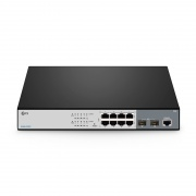 S3260-8T2FP Switch PoE+, 8 Puertos RJ45 10/100/1000 Mbps, 2 enlaces ascendentes SFP 1Gb, 260W - Administrable