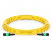 Customized 8/12 Fibers MPO-12 OS2 Single Mode Trunk Cable