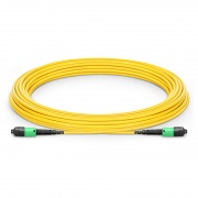 Customized MTP? PRO 8-144 Fibers MTP?-12 OS2 Single Mode Elite Trunk Cable, Yellow
