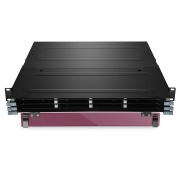 1U Rack Mount FHX Ultra HD Fiber Enclosure Unloaded, Holds up to 12x FHX MTP-12 Cassettes or Panels