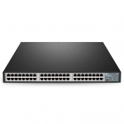 48-Port Gigabit Stackable L3 PoE+ Managed Switch with 8 SFP+, 500W