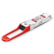 Módulo transceptor compatible con Fortinet FG-TRAN-QSFP28-ER4, 100GBASE-ER4 QSFP28 1310nm 40km DOM LC SMF