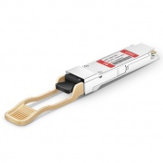 Módulo transceptor compatible con F5 Networks F5-UPG-QSFP+CSR4, 40GBASE-CSR4 QSFP+ 850nm 400m MTP/MPO DOM
