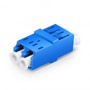 LC/UPC-LC/UPC デュプレックス シングルモード SC型 プラスチック製 光ファイバアダプター/嵌合スリーブ(フランジなし)