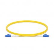 Cable/latiguillo/jumper de fibra óptica LC UPC a LC UPC 0.5m OS2 9/125 símplex monomodo PVC (OFNR) 2.0mm