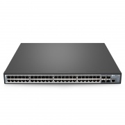 S3400-48T4SP, Switch PoE+ administrable de 48 puertos gigabit ethernet, 48 x puertos PoE+ @370W, con 4 x enlaces ascendente SFP+ 10Gb
