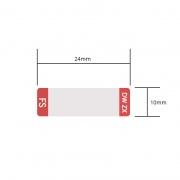 Etiqueta personalizada para transceptor DWDM SFP, 1 rollo