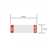 Design Label for DWDM SFP Transceiver, 1 Roll
