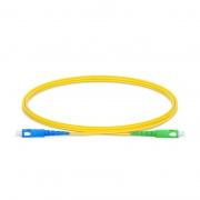 LWL-Patchkabel, 1m (3ft) SC UPC auf SC APC Simplex OS2 Singlemode PVC (OFNR) 2.0mm