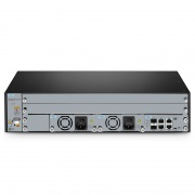 M6500-CH2U, 2U Managed Chassis Unloaded Platform, Supports 2x 200G Transponder/Muxponder
