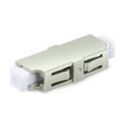 LC/UPC - LC/UPC Оптический Адаптер OM1/OM2,  Симплексный, Пластиковый