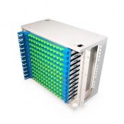 Distribuidor de fibra óptica(ODF) 144 fibras 19'' 8U montaje en rack, sin carga