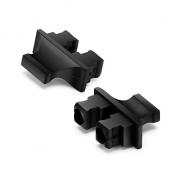 GBIC X2 XENPAK Dust Caps, Suitable for Duplex SC GBIC X2 XENPAK Optical Module, 100pcs/pack