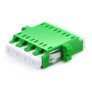 LC/APC to LC/APC Singlemode 4 Cores Plastic Fiber Optic Adapter