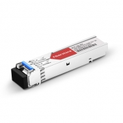 Brocade E1MG-BXU-10 Compatible 1000BASE-BX BiDi SFP 1310nm-TX/1550nm-RX 10km DOM Transceiver Module