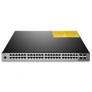 S3800-48T4S 48ポート10/100/1000BASE-T ギガビット マネージドスイッチ(4 10GE SFP+ アップリンク、デュアルパワー)