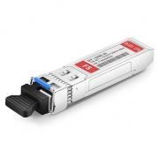 Cisco SFP-10G-BX80U-I Compatible 10GBASE-BX80-U SFP+ 1270nm-TX/1330nm-RX 80km DOM Transceiver Module
