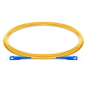 1m (3ft) SC UPC to SC UPC Simplex 2.0mm PVC (OFNR) 9/125 Single Mode Fiber Patch Cable