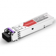 Módulo Transceptor SFP Mini-GBIC LC Gigabit 1000BASE-CWDM - Genérico Compatible - 80km - 1270nm - DOM