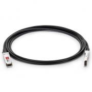 Cable Twinax 56G QSFP+ 1m (3ft) de Cobre de Conexión Directa Pasivo 1m- Genérico Compatible
