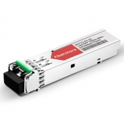 Cisco GLC-ZX-SM Compatible Módulo Transceptor SFP de Fibra Óptica (Mini GBIC) - LC Ethernet 1000BASE-ZX Monomodo 80km