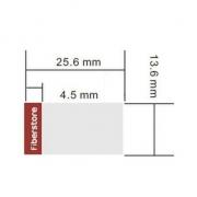 Etiqueta diseñada para 40GBASE-LR4 QSFP+ 1310nm 10km Módulo transceptor, 1 rollo