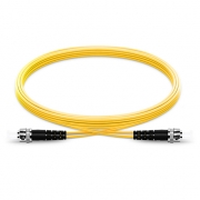 1m (3ft) ST UPC to ST UPC Duplex 2.0mm LSZH 9/125 Single Mode Fiber Patch Cable