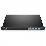 16 Channels C21-C36, with Expansion Port, Dual Fiber DWDM Mux Demux, FMU 1U Rack Mount, LC/UPC
