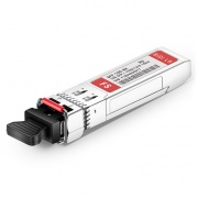 HW 02310QDT-I Compatible 10GBASE-BX10-D BiDi SFP+ 1330nm-TX/1270nm-RX 10km Industrial DOM LC SMF Transceiver Module