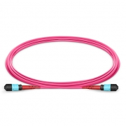 24-144 Fibers OM4 Multimode 24 Strands MTP Trunk Cable 3.0mm