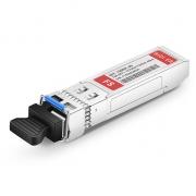 Cisco SFP-10G-BX40U-I Compatible 10GBASE-BX40-U SFP+ 1270nm-TX/1330nm-RX 40km DOM Transceiver Module