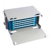 Distribuidor de fibra óptica(ODF) 72 fibras 19'' 4U montaje en rack, sin carga