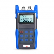 FHOM-101 Power Meter + Laser Source Handheld Optical Multimeter with 2.5mm+FC+SC+ST Connector