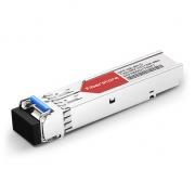 Cisco GLC-BX40-U-I Compatible 1000BASE-BX-U BiDi SFP 1310nm-TX/1550nm-RX 40km DOM Transceiver Module