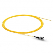 ST UPC Single Mode Fibre Optic Pigtail, 0.9mm PVC Jacket, 3m (10ft)