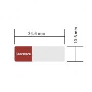 Etiqueta diseñada para DWDM SFP+ Transceptor, 1 rollo