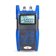 FHOM-101 Medidor de potencia + multímetro óptico portátil con fuente láser de conector +FC+SC+ST de 2.5mm