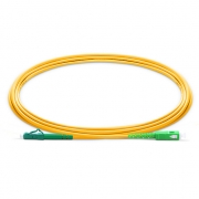 1m (3ft) LC APC to SC APC Simplex 2.0mm PVC (OFNR) 9/125 Single Mode Fiber Patch Cable