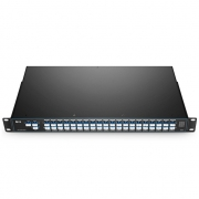 40 Channels C21-C60 Dual Fibre DWDM Mux Demux, with 1310nm Port for 40G/100G LR4 and Monitor Port, FMU 1U Rack Mount, LC/UPC