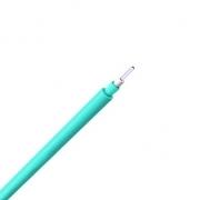 Single-Fiber Multimode 50/125 OM4, Plenum, Corning Fiber, Indoor Tight-Buffered Interconnect Fiber Optical Cable