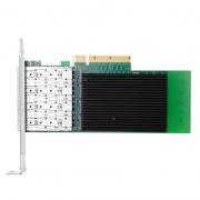 PCI Express x8 Quad Port SFP+ 10 Gigabit Server Adapter