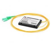 1x2 PLC Fiber Splitter, Splice/Pigtailed ABS Module, 2.0mm, SC/APC, Singlemode