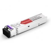 Cisco GLC-BX120-U Compatible 1000BASE-BX BiDi SFP 1490nm-TX/1550nm-RX 120km DOM Transceiver Module