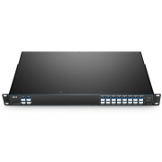 16 Channels C21-C36, with Monitor, Expansion and 1310nm Port, LC/UPC, Dual Fiber DWDM Mux Demux, FMU 1U Rack Mount