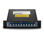 9 Channels 1270-1590nm Single Fiber CWDM Mux Demux, Side-A, Plug-in Module, LC/UPC