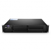 Customized 1U/2U/4U Managed Chassis Unloaded, Supports up to 16x Multiplexer/EDFA/OEO/OLP Card with Accessories