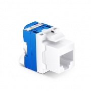 Cat6 RJ45 (8P8C) Unshielded Toolless Keystone Jack