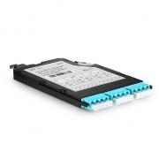 MTP-12 Ultra High Density MPO/MTP Cassette, 12 Fibers OM4, LC Quad, Type AF