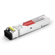 Cisco GLC-BX80-D-I Compatible 1000BASE-BX BiDi SFP 1570nm-TX/1490nm-RX 80km DOM Transceiver Module